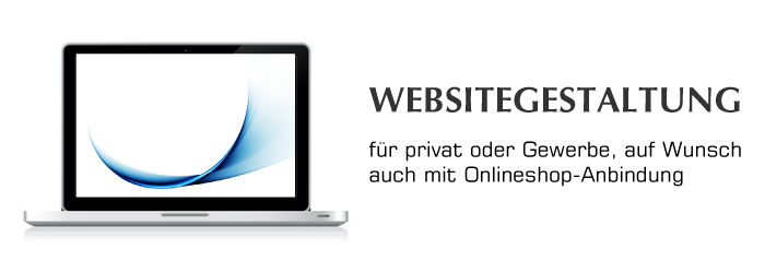 Websitegestaltung